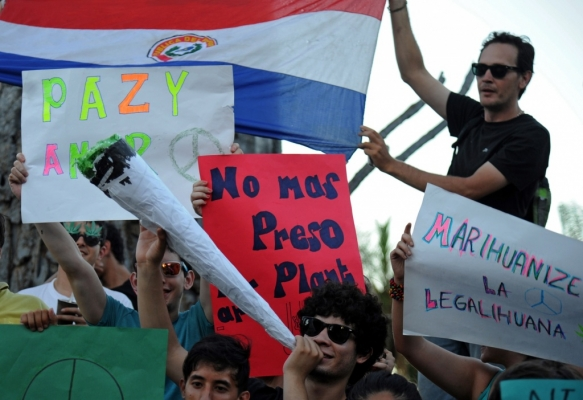 The Paraguayan government is against legalizing marijuana.