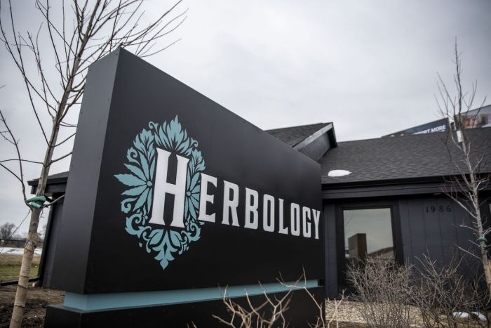 herbology business sign