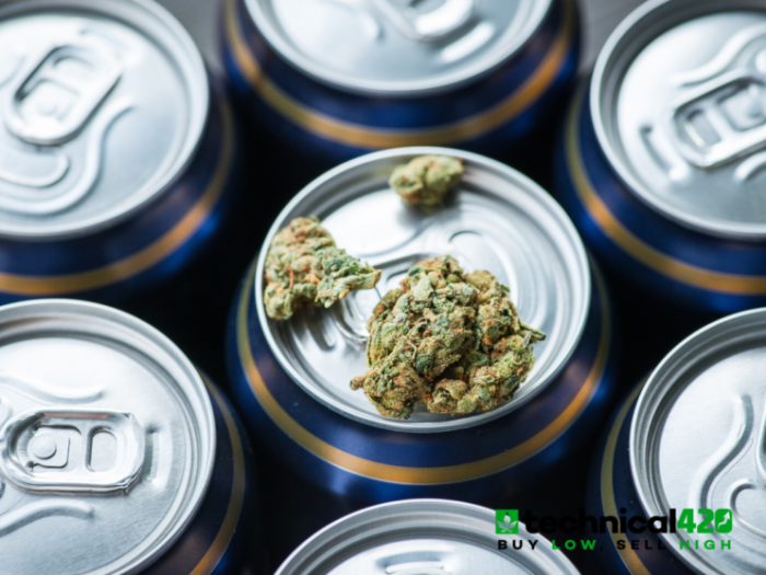 Cannabis Beverages Continue To Blaze A Trend As One Of The Top Choices For Cannabis Consumers