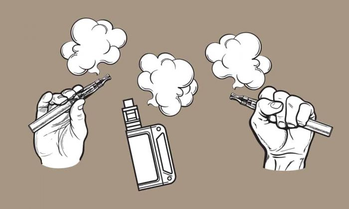 Vaping Drawing